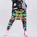 fabricante de equipos originales 2014 nuevo diseño de la moda de algodón elástico de la cintura los pantalones para mujer