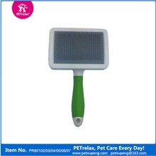 2015 pet products new for dog hair grooming slicker brush