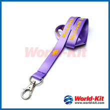 High Quality Custom Printed Polyster Lanyards with Carabiner Hook