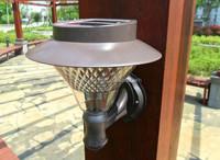 Solar outdoor decorative led wall light/solar led exterior wall light