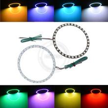 Auto headlight angel eyes rgb halo rings 160mm rgb halo
