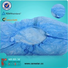 Hospital disposable CPE shoe cover, overshoes