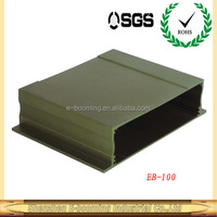 wall mounted aluminum controller extrusion enclosures157*39mm(W*H)/OEM aluminum extrusion enclosure factory in China