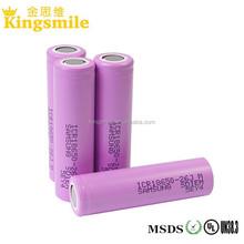 Hot Sale! samsung 26JM 2600mah 3.63V 18650 flat top high quality 18650 Li Ion Battery Cell