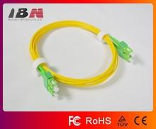 factory supply sc/apc to sc/apc corning fiber optic patch cable cord