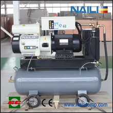 Portable Configuration and Lubricated Style 8-13 bar air compressor
