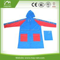 popular 2015 hot sell children raincoat pvc rainwear central