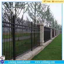 goat fence panel/galvanized pipe horse fence panels/economic garden fence factory