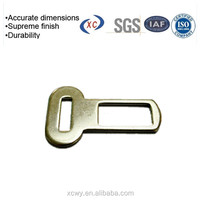 Fabricate powder coated flat metal hook