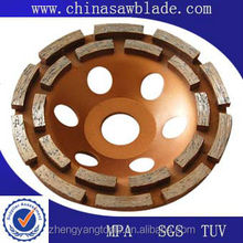 diamond carbide tipped grinding cutting cup wheel