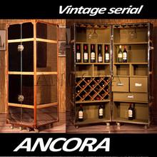 vintage white bar cabinet,industrial furniture,vintage furniture L887