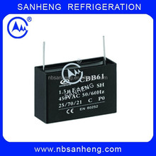 2MFD High Quality Capacitor Fan Capacitor CBB61 4uf 450V Capacitor