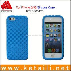For iPhone 5S Colorful Silicone Mobile Phone Cover Manufacturer