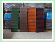 types of stone coated metal roofing factory