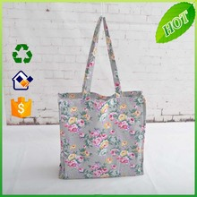 Recycle organic cotton tote bags canvas bag wholesale