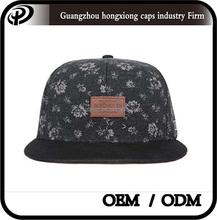 Estilo de la voga diseñe su propio casquillo del snapback japonés top hat sombreros barato