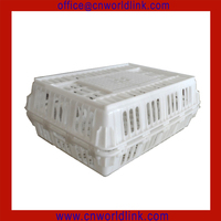 760 Plastic Live Poultry Transport Chicken Crate