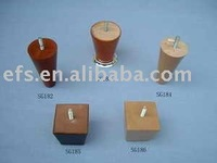 Low Price with Good Shape Fashional short wood furniture leg(EFS-900S)