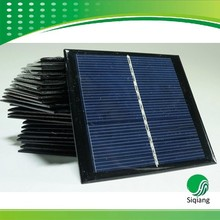 Epoxy resin 5W 12V 200*200mm mini solar panel for led light