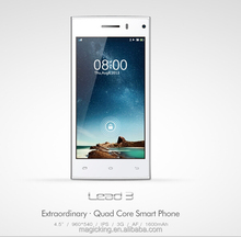 """New arrival leagoo lead 3 mobile phone 4.5"""" QHD IPS LCD 960*540 handset with factory price"""