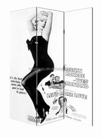 Top quality American style fancy marilyn monroe room divider