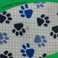 Professional polar fleece jacket anti pill fleece fabric print printed fleece hat for wholesales