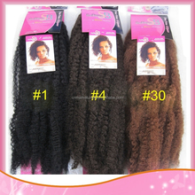 Wholesale Marley Braid Hair Kanekalon Hair Extension For Braids Black African Braids Hair Bulk Stock