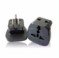 10A/250V 3 Pin American Adaptor plug with 2 receptacle