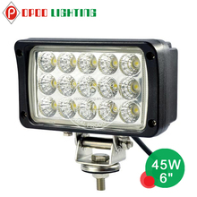 Pretty competitive price Epistar rectangle 7inch 45w driving light