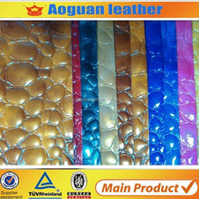T252 high quality animal pattern leather bags and shoes in Indian market