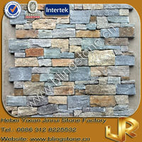 Cement Slate Panel Dry Stone Wall Cladding