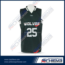 top quality team club basketball jersey with number/names