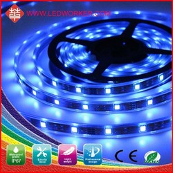 2015 Factory Directly Saleepoxy Tube Waterproof 5050 30 SMD/M IP68 Continuous Led Strip 12V/24V DC From Leddworker