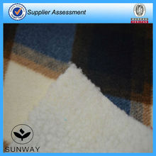Anti pilling polar fleece bonded fabric