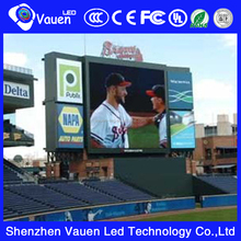P10 outdoor perimeter led display for basketball/fooeball match advertising