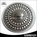 anillos de plata antigua de moda de aleación de zinc