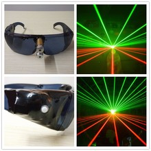 Hanfeng New design cheap green/red laser glasses with high quality for stage show / party show