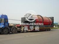 New technology zhenjieneng wood sawdust rotary dryer machine manufacturers from china
