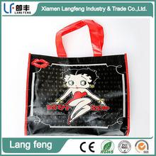 non-woven fabric animation bag, custom carrying bag,Customize reusable non woven advertising bag