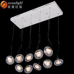 led lamp home,glass ball pendant light OMI2108-10