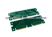 Tableros del PWB de 8 capas HDI, placa de circuito impresa TG150 de encargo del oro Fr4 de la inmersión