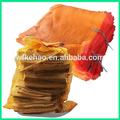 50*80cm saco de malha raschel para embalagem de lenha, vegetais, batata
