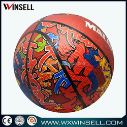 best-selling hot sales sport rubber basketball made in china
