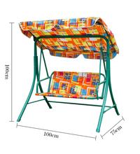 patio garden metal swing sets for kids