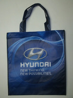 Lead-free Reduce Reuse Recycle RPET Shopper HYUNDAI Recycled Shopping Bag