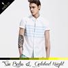 Custom fashion cheap new style classic short sleeve esd fc barcelona shirt designs for men
