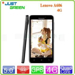 cheap price smart phone 5 inch 4G Lenovo A606 MT6582m quad cores android 4.4