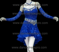 #2312 Customs-made Ballroom Latin Salsa Dance Dress