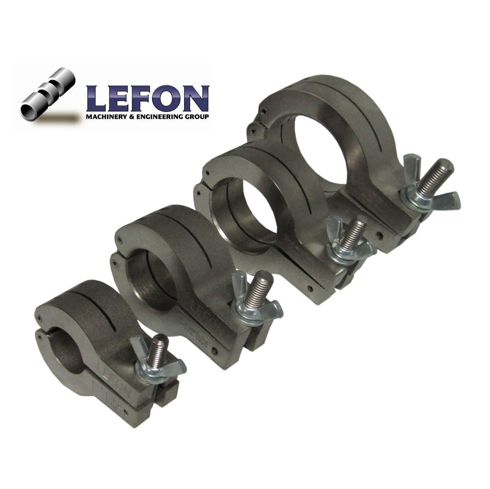 Pipe cutting blocks view tube lefon