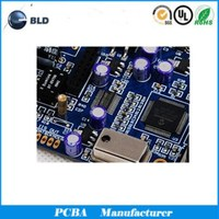 Single and double side PCB assembly, 4 layers PCBA, Multilayer PCB